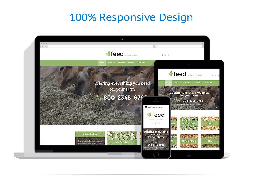 Modèles HTML5 Agriculture #55776
