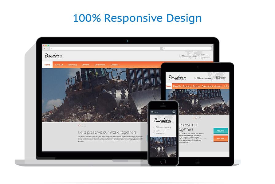 Modèles HTML5 Industriel #55797