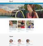 Sport Website  Template 55798