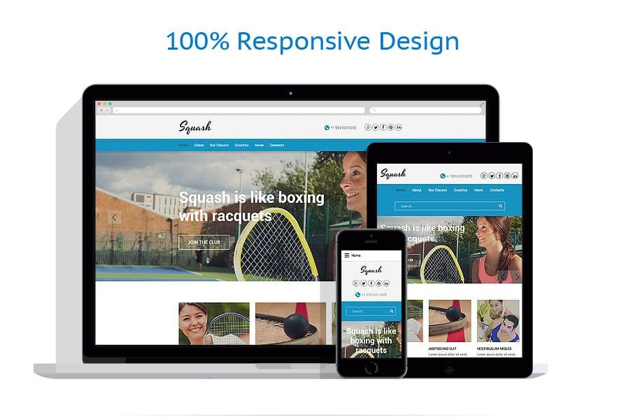 Modèles HTML5 Sport #55798