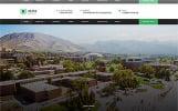 """ALMA - University Multipage HTML"" - адаптивний Шаблон сайту"
