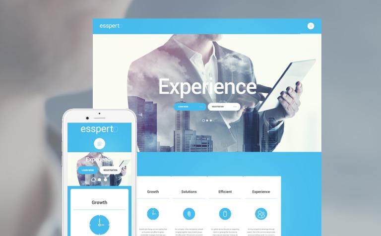 Business Expert WordPress Theme