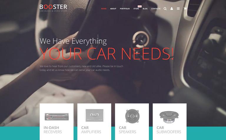Car Audio Video WooCommerce Theme