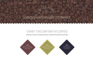 Coffee Shop Magento Theme