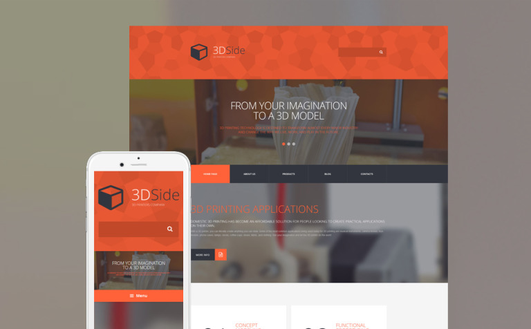 14 3D Website Themes & Templates