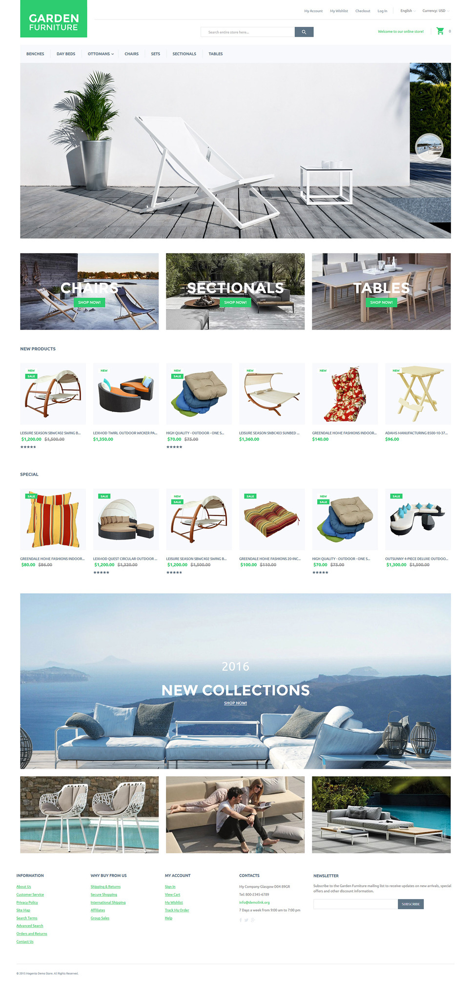 Garden Furniture Magento Theme New Screenshots BIG