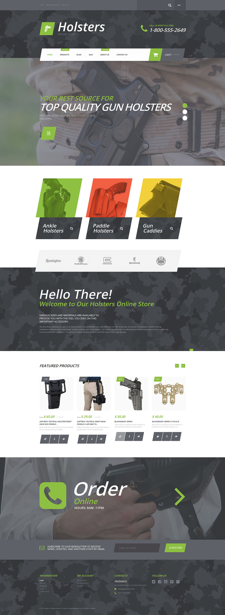 Holsters Shopify Theme New Screenshots BIG