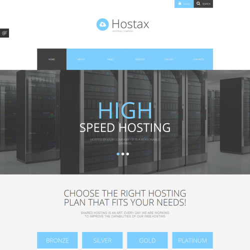Hostax - Joomla! Template based on Bootstrap