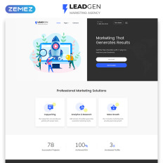 37+ Best Investment Company Website Templates