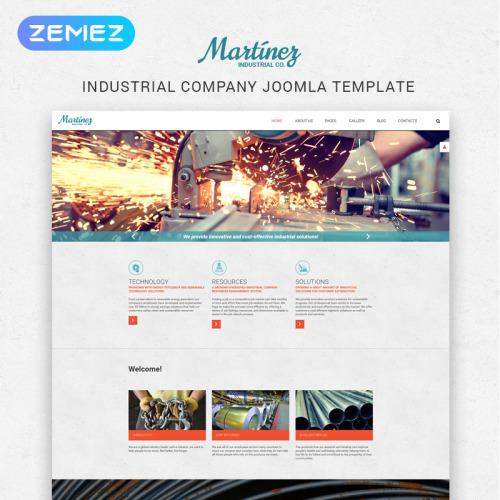 Martinez - Joomla! Template based on Bootstrap