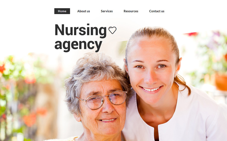 Nursing Agency Website Template