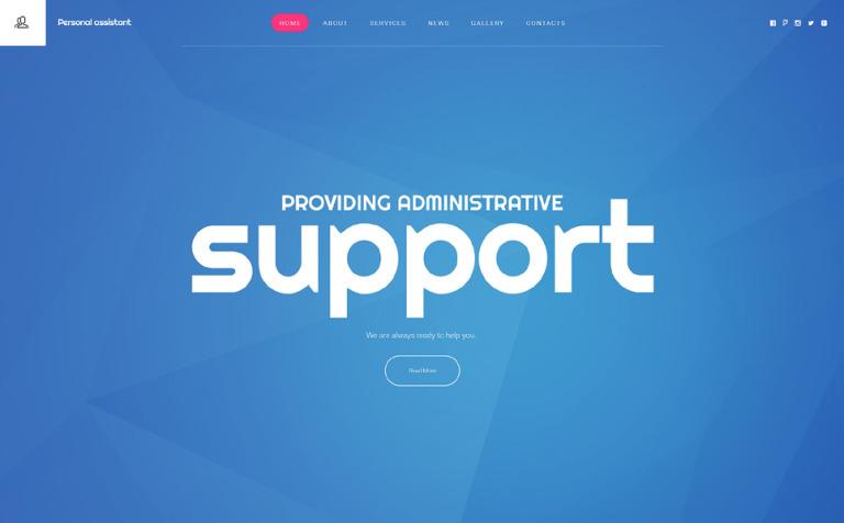 Personal Profile Website Template