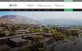 Plantilla Web para Sitio de Universidades