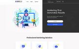 Responsive LeadGen - Marketing Agency Multipage HTML5 Web Sitesi Şablonu