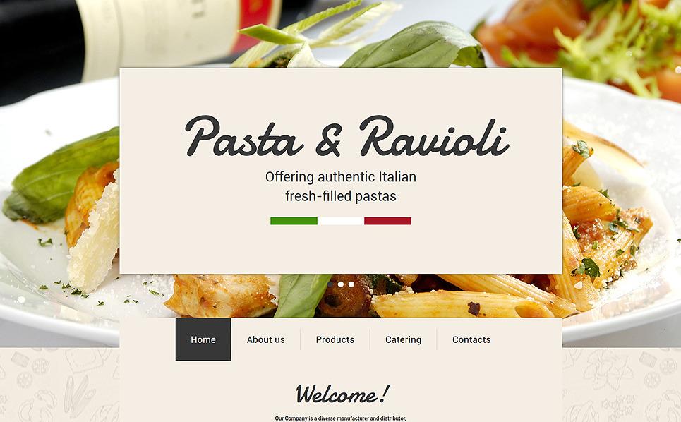 Responsywny szablon strony www #55713 na temat: restauracja włoska New Screenshots BIG