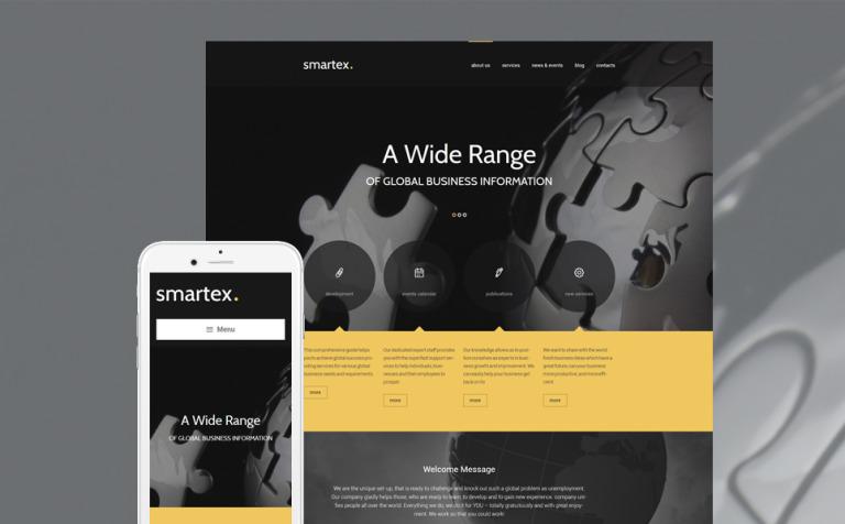 Smartex WordPress Theme