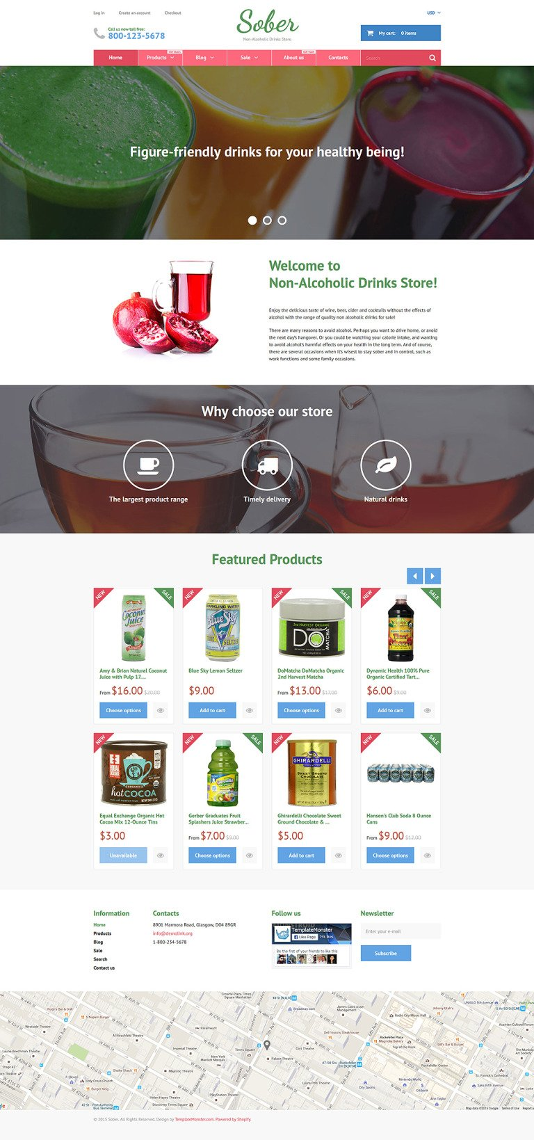 Sober Shopify Theme New Screenshots BIG