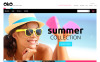 "Tema Magento Responsive #55707 ""Sunglasses Shop"" New Screenshots BIG"