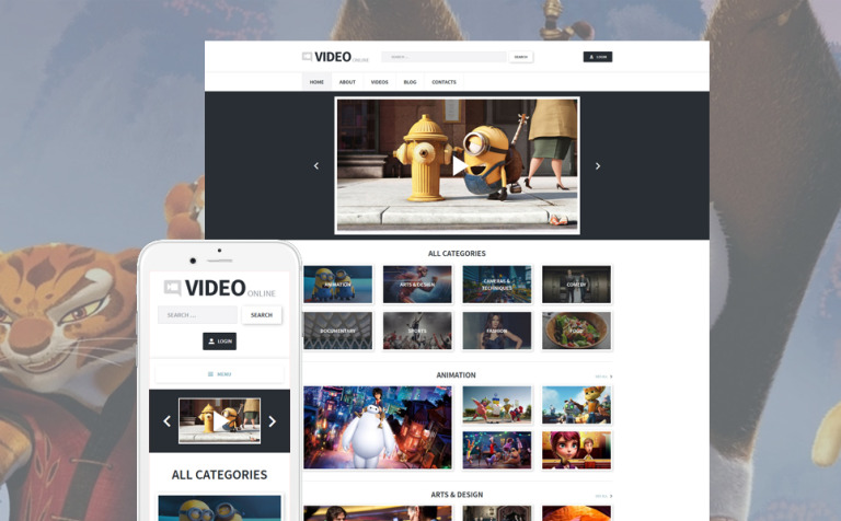 12+ Best Movie Studio WordPress Themes & Templates 2019 [Download Now]