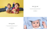 """Day Nursery Centre - Kids Center Minimal HTML Bootstrap"" modèle web adaptatif"