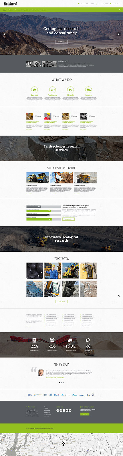 Website Template #55803