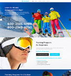 Sport Website  Template 55804