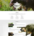 Society and Culture WordPress Template 55806