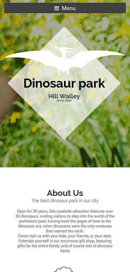 WordPress Theme/Template 55806 Main Page Screenshot