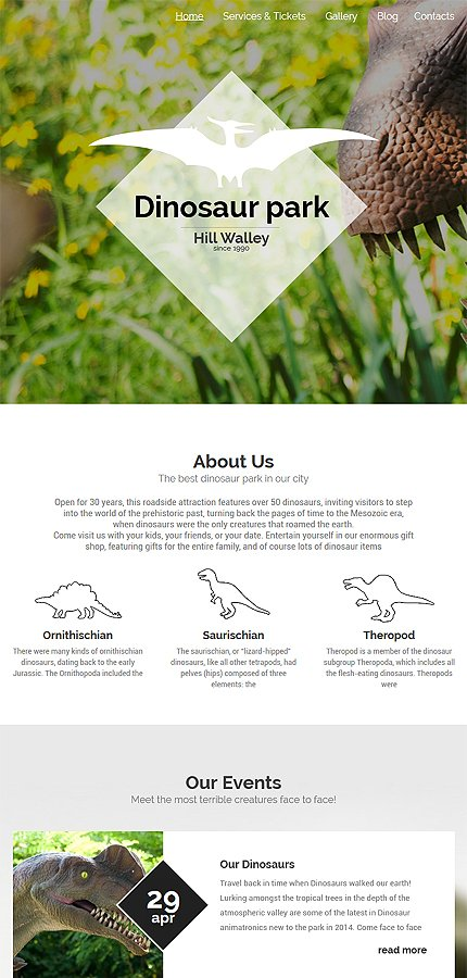WordPress Theme/Template 55806 Main Page Screenshot