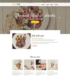 Food & Drink Drupal  Template 55807