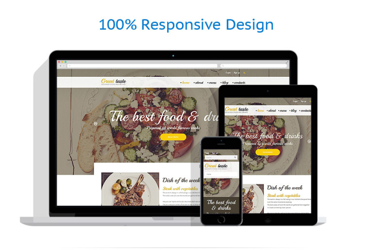 Great Taste Drupal Template