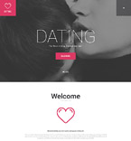 Dating WordPress Template 55820