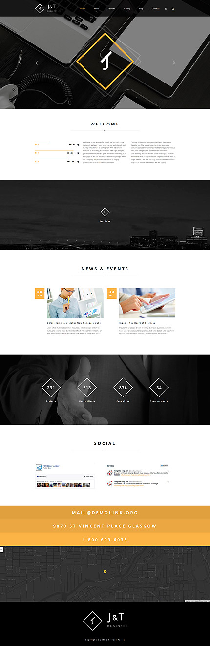 Drupal Template 55821 Main Page Screenshot