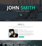 Personal Page PSD  Template 55830