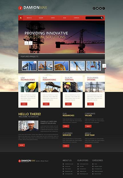 PSD макет сайта №55832