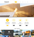 Architecture PSD  Template 55838