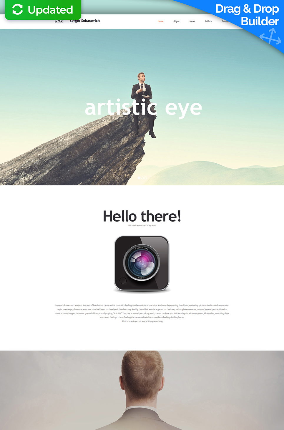 Web design for online photography