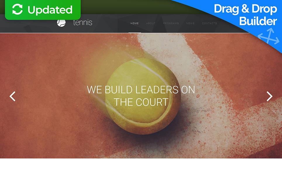 Reszponzív Tenisz Moto CMS 3 sablon New Screenshots BIG