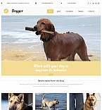 Animals & Pets Moto CMS 3  Template 55851