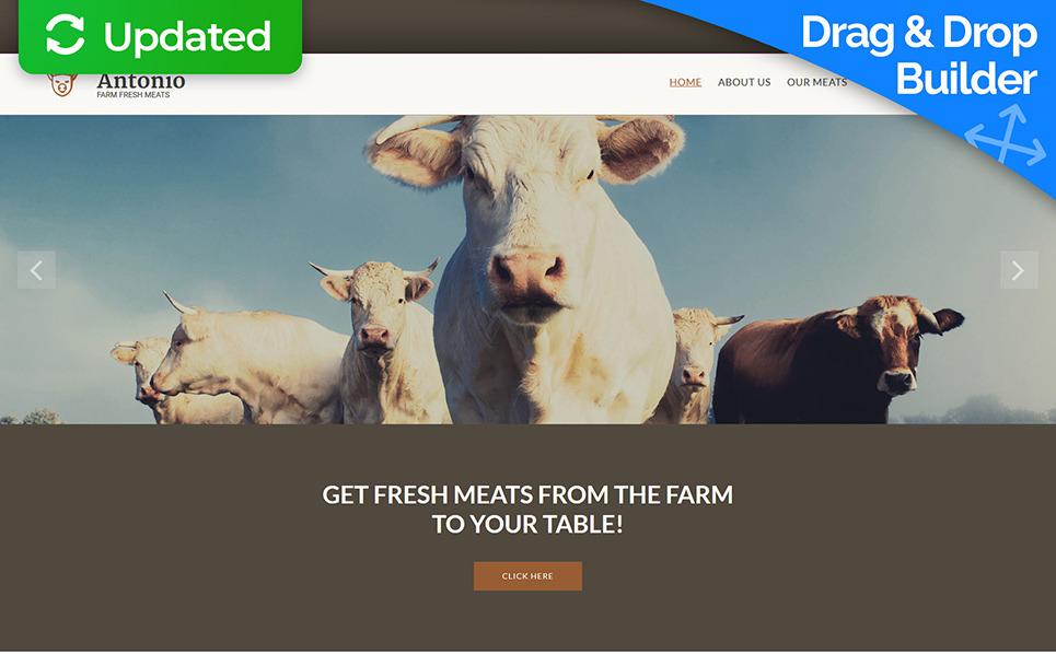 Responsywny szablon Moto CMS 3 #55854 na temat: gospodarstwo rolne New Screenshots BIG