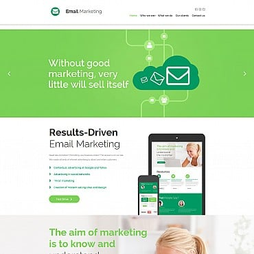 Preview image of Internet Moto CMS 3 template No. 55857