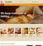 Food & Drink Moto CMS 3  Template 55861