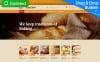 Responsivt Moto CMS 3-mall för bageri New Screenshots BIG