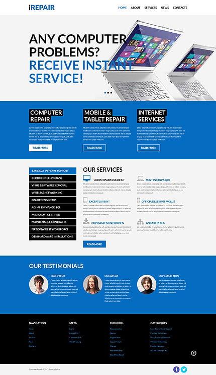 PSD макет сайта №55863