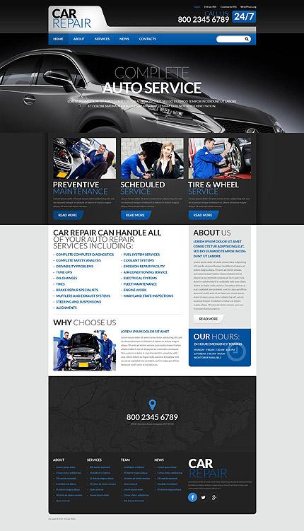 PSD макет сайта №55869