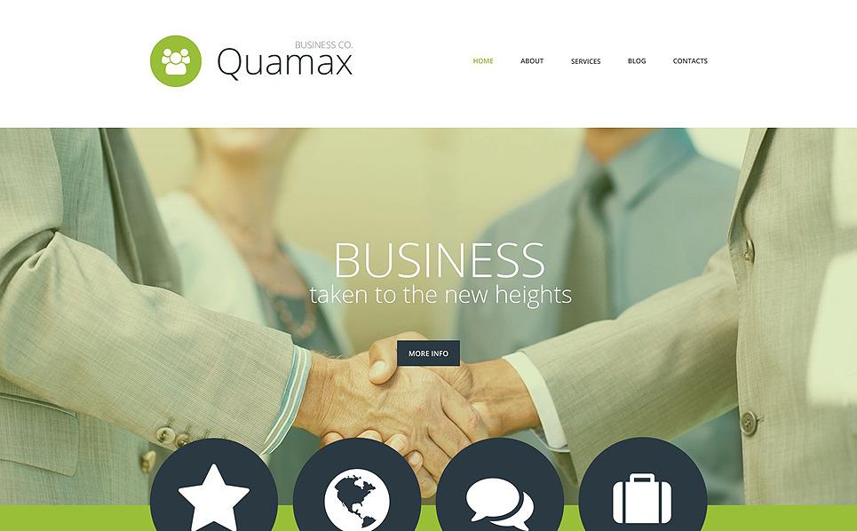 Modello PSD  #55871 per Un Sito di Business e Servizi New Screenshots BIG