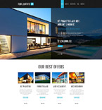 Real Estate PSD  Template 55872