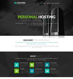 Web Hosting PSD  Template 55884