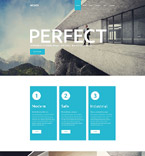 Architecture PSD  Template 55885
