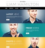 Personal Page PSD  Template 55888